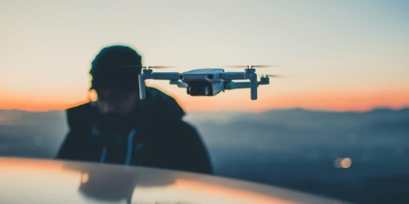 dron para viajar