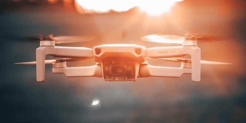 dron por debajo de 500
