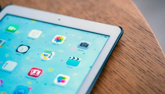 Photos app in iPad