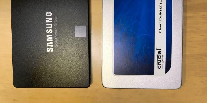Samsung EVO 860 vs Crucial MX500